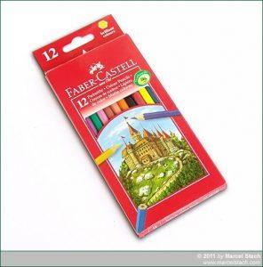 Farbstifte: Faber Castell 12er