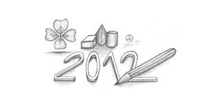 Zeichnung: Sylvester 2012