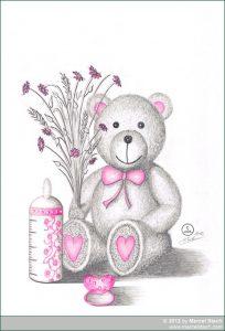 Zeichnung: Teddy