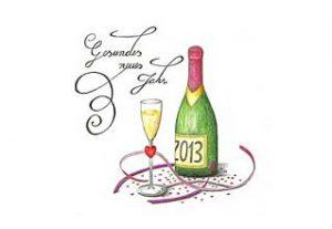 Gesundes Neues Jahr 2013
